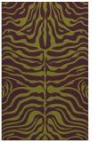 rug #275597 |  purple stripes rug