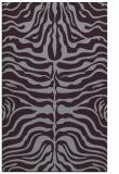 rug #275605 |  purple stripes rug