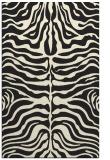 rug #275677 |  black stripes rug