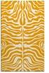 rug #275705 |  light-orange stripes rug