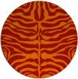 rug #275965 | round red popular rug