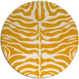 rug #276057 | round light-orange animal rug