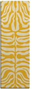 flatten zebra rug - product 276361