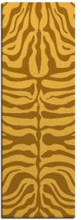 flatten zebra rug - product 276377