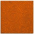 rug #280209 | square red-orange natural rug