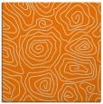 rug #280261 | square orange natural rug