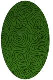 rug #280368 | oval natural rug