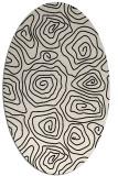 rug #280374 | oval natural rug