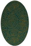rug #280604 | oval natural rug