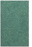 rug #280705 |  blue-green natural rug