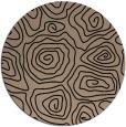 rug #281013 | round beige natural rug