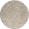 rug #281153 | round beige natural rug
