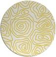 rug #281301 | round white rug