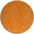 rug #281317 | round beige natural rug