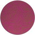 rug #281329 | round light-green popular rug