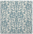 rug #281729 | square blue-green rug