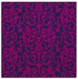 rug #281733 | square blue natural rug