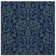 rug #281737 | square blue natural rug