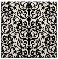 rug #281781 | square blue-green rug