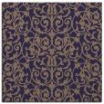 rug #281813 | square blue-violet traditional rug
