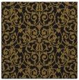 rug #281821 | square mid-brown rug