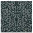 rug #281833 | square blue-green traditional rug