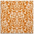 rug #281897 | square orange natural rug