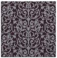 rug #281941   square purple damask rug