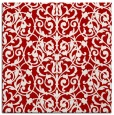 rug #281945 | square red traditional rug