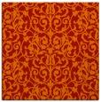 rug #281949 | square red natural rug