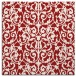 rug #281953 | square red traditional rug