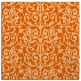rug #281965 | square red-orange traditional rug