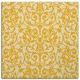 rug #281993 | square yellow traditional rug