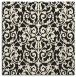 rug #282013   square black traditional rug