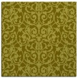 rug #282025 | square light-green damask rug