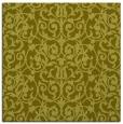 rug #282025 | square light-green traditional rug