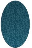 rug #282106 | oval traditional rug