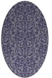 rug #282145 | oval blue-violet traditional rug