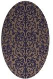 rug #282166 | oval traditional rug