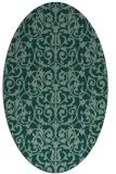 rug #282264 | oval traditional rug
