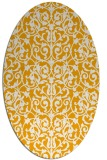 rug #282393 | oval light-orange traditional rug