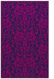 rug #282437 |  blue damask rug