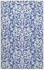rug #282449 |  blue damask rug