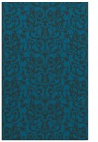 rug #282485 |  blue-green natural rug