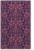 rug #282501 |  blue-violet traditional rug