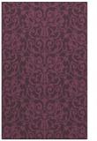 rug #282633 |  purple popular rug