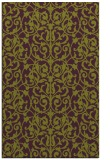 rug #282637 |  green damask rug