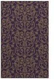 rug #282641 |  mid-brown damask rug