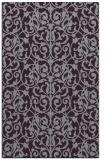 rug #282645 |  purple traditional rug