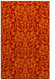 rug #282653 |  red traditional rug